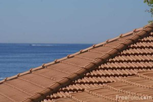 French Tiled Roof